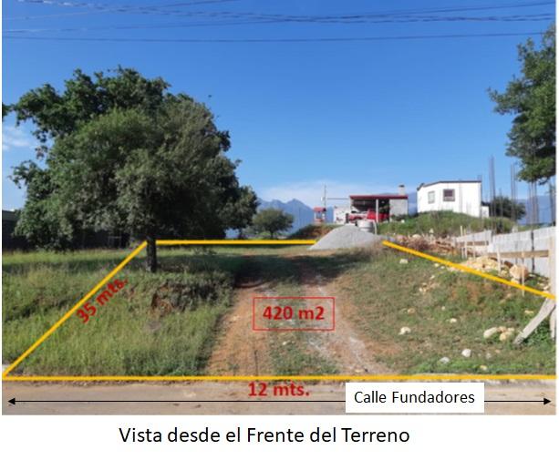 Terreno en venta en Residencial Los Encinos de Allende, Nuevo Leon CP. 67350