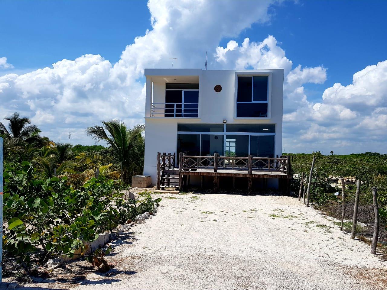 Preventa de Casa Caracol en Playa San Benito en Telchac Puerto, Yucatán