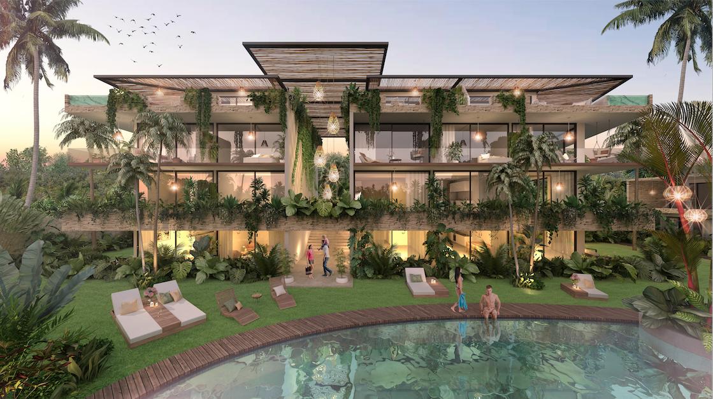 En venta Pent House de lujo con alberca  en Tulum, Riviera Maya