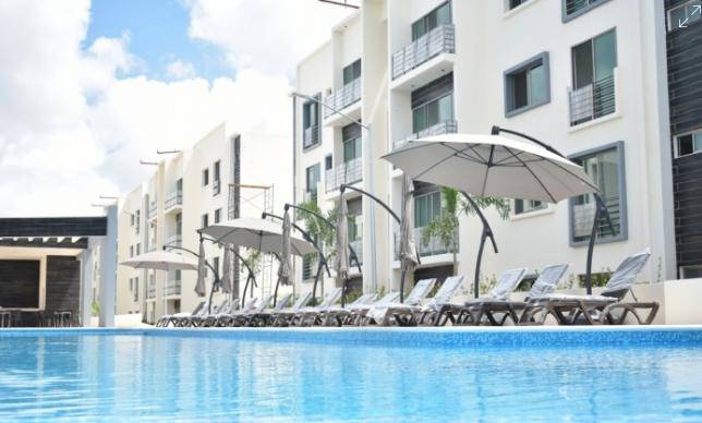 Venta de departamento de 3 recámaras en Cancun con alberca seguridad y amenidades