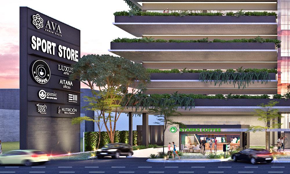 Renta de local comercial con alto flujo vehicular en Av Bonampak Cancún