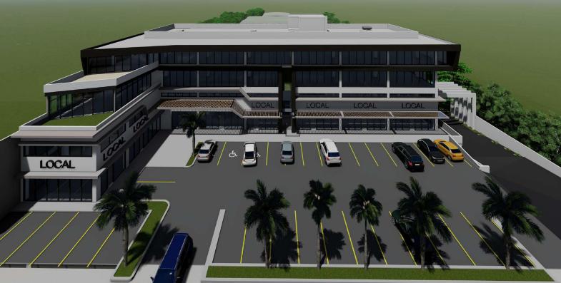 Oficinas y locales en renta sobre Av. Colosio, Cancún