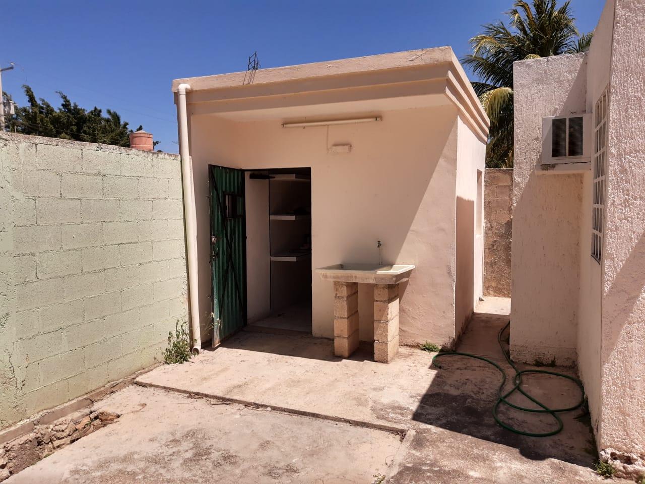 Casa de Una Sola Planta en Pinos Norte en Mérida Yucatán