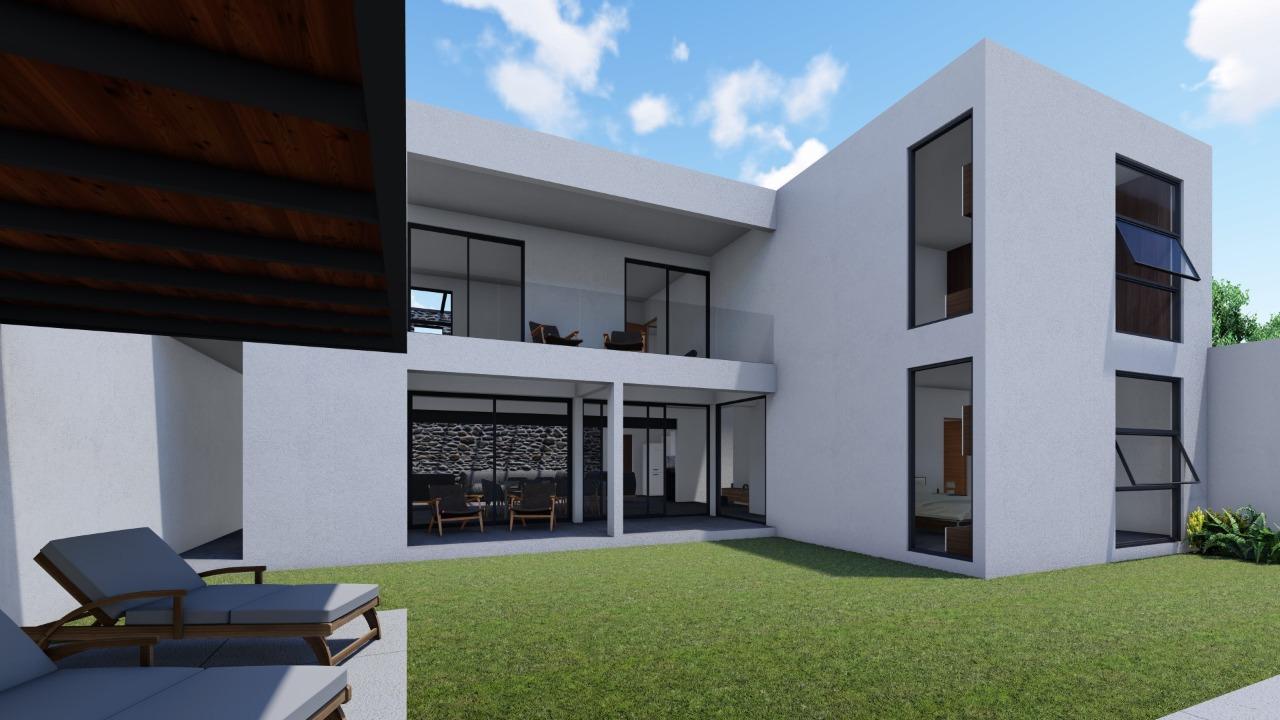 Se vende Residencia con recámara en PB en Fracc. seguro con jardín y alberca en Palmira
