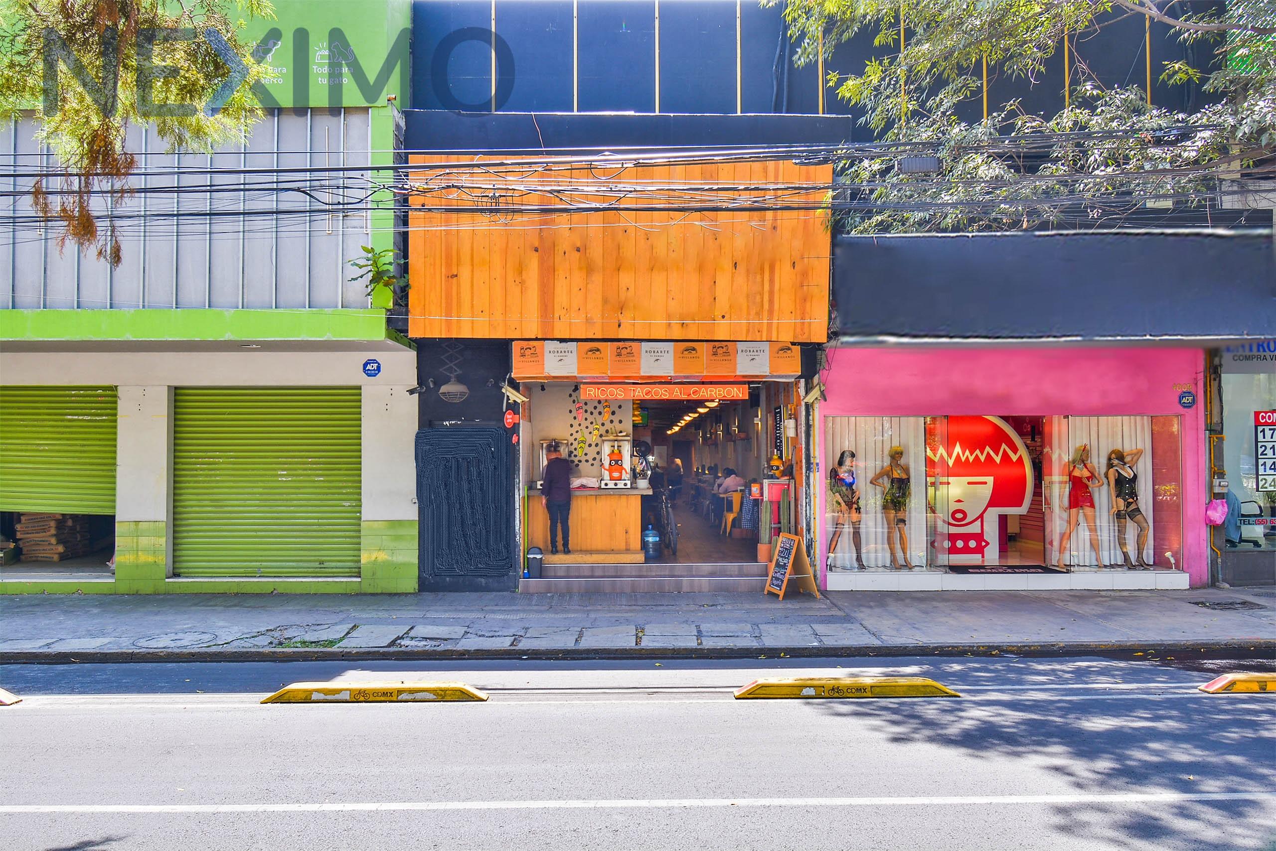 Local para Restaurante/Bar en Polanco Avenida Principal con Licencia de Bebidas Alcohólicas