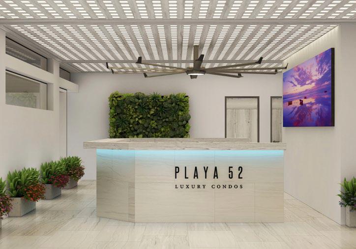 Venta de departamento de lujo en Playa 52, Playa del Carmen