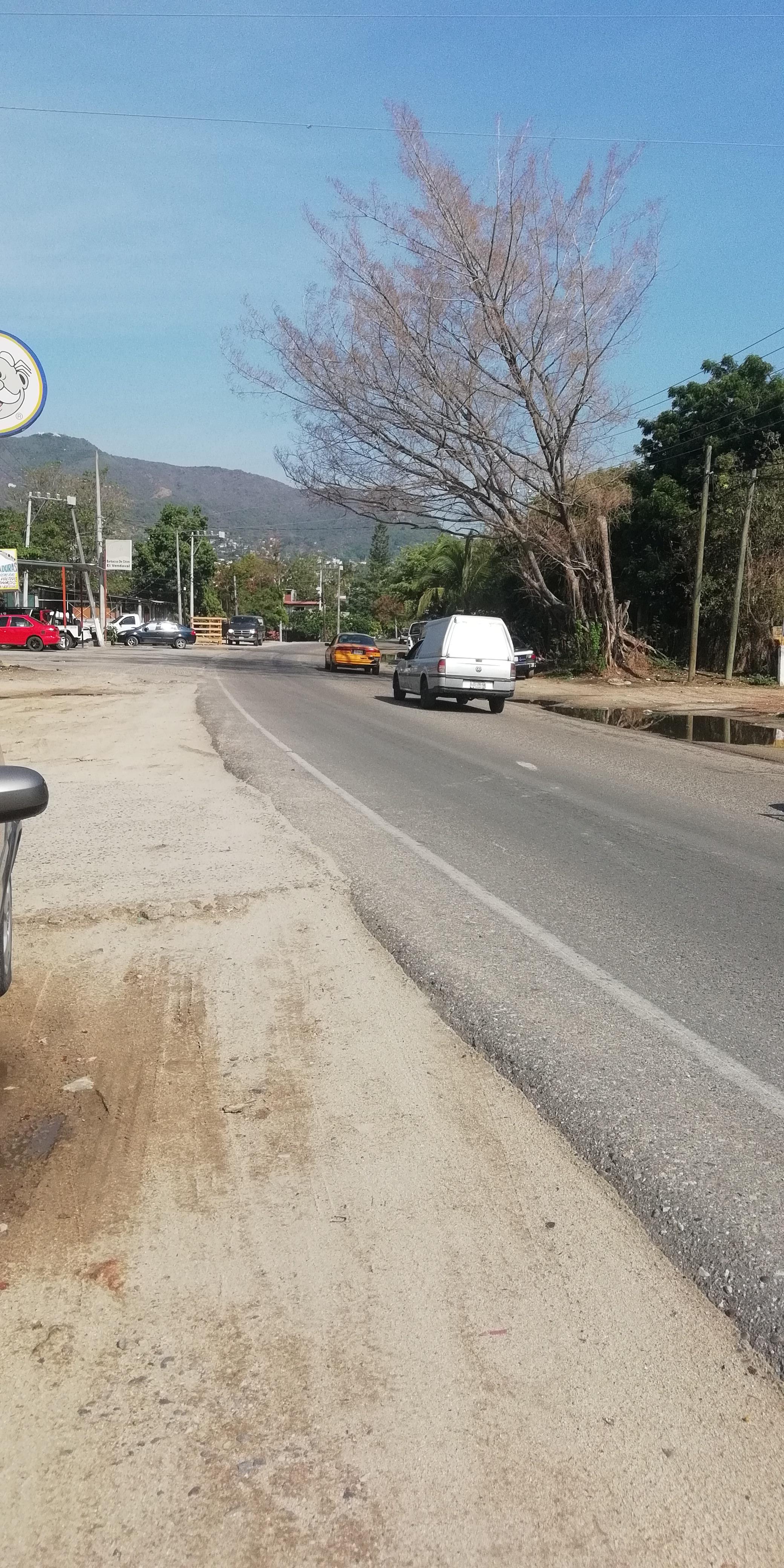 Venta. Terreno sobre avenida en Cayaco, Acapulco