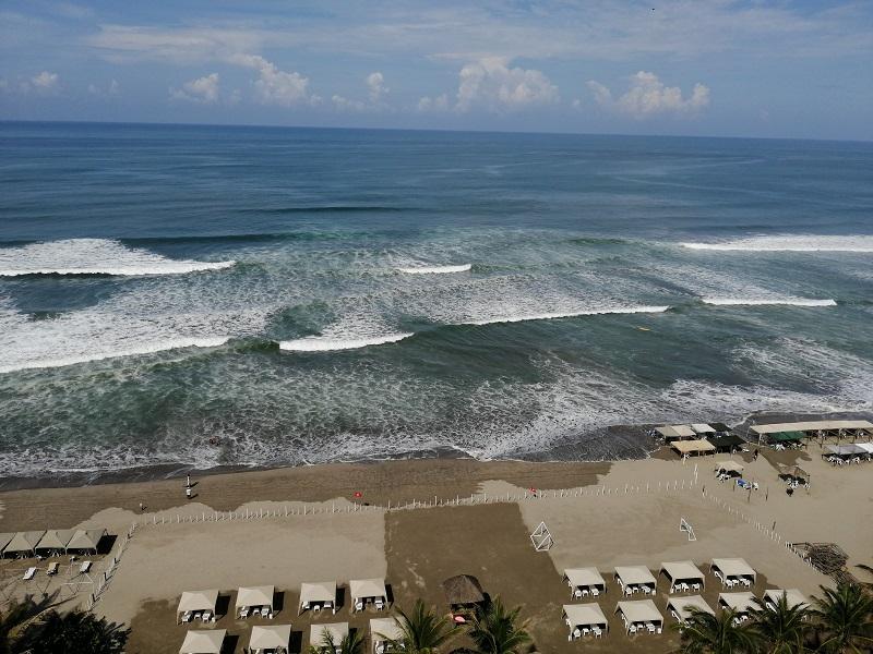 Depto frente al mar Cond Palmeiras, Acapulco