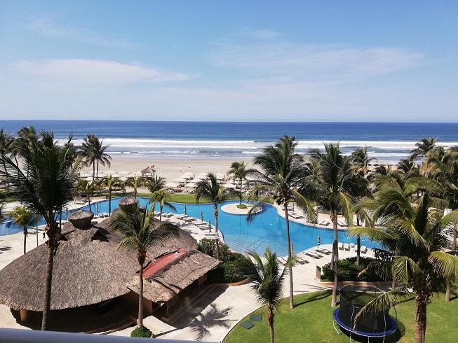 Depto en Acapulco, Condominio Las Olas a orilla de la Playa