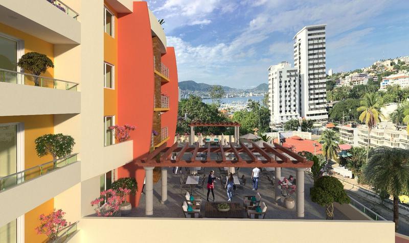 Departamentos en venta en el Condominio Sagyro en el Fraccionamiento Las Playas, Acapulco
