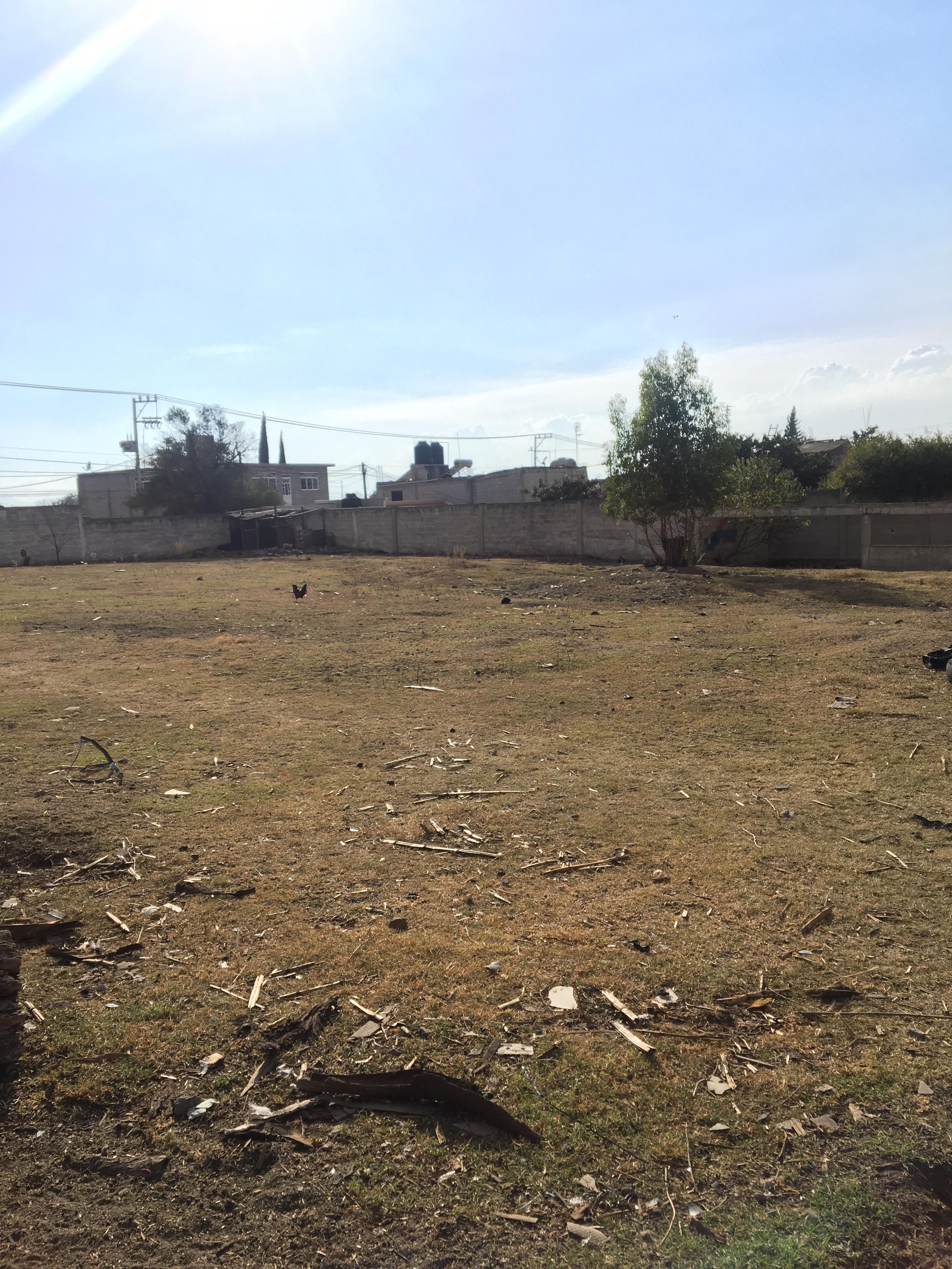 Terreno con uso habitacional en Texcoco