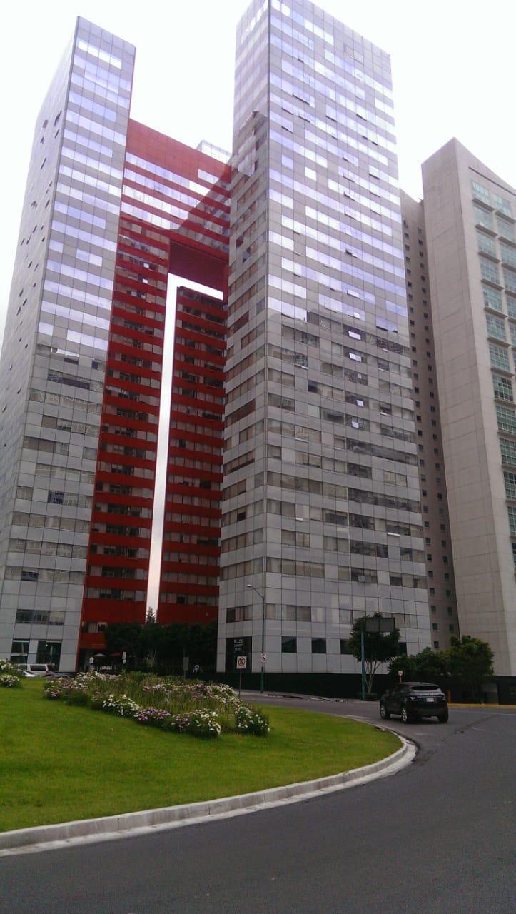 Departamento en renta Paseo de la Reforma 2 recamaras