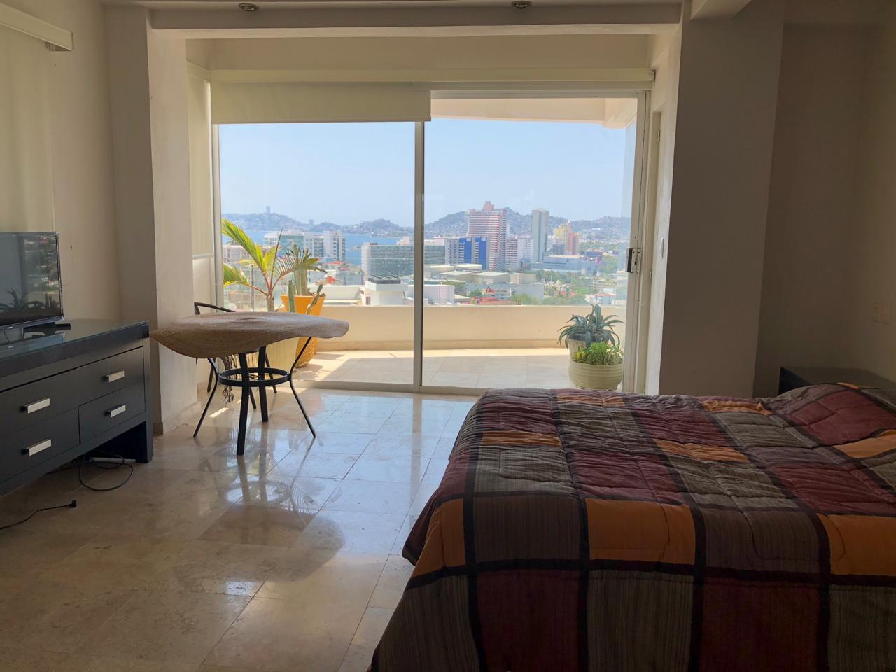 Departamento en renta por noche en Acapulco Dorado