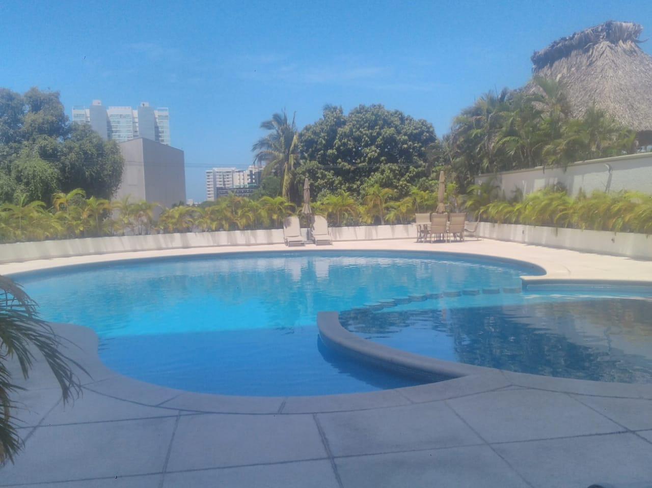 Departamento en renta en Acapulco, Club deportivo sin muebles