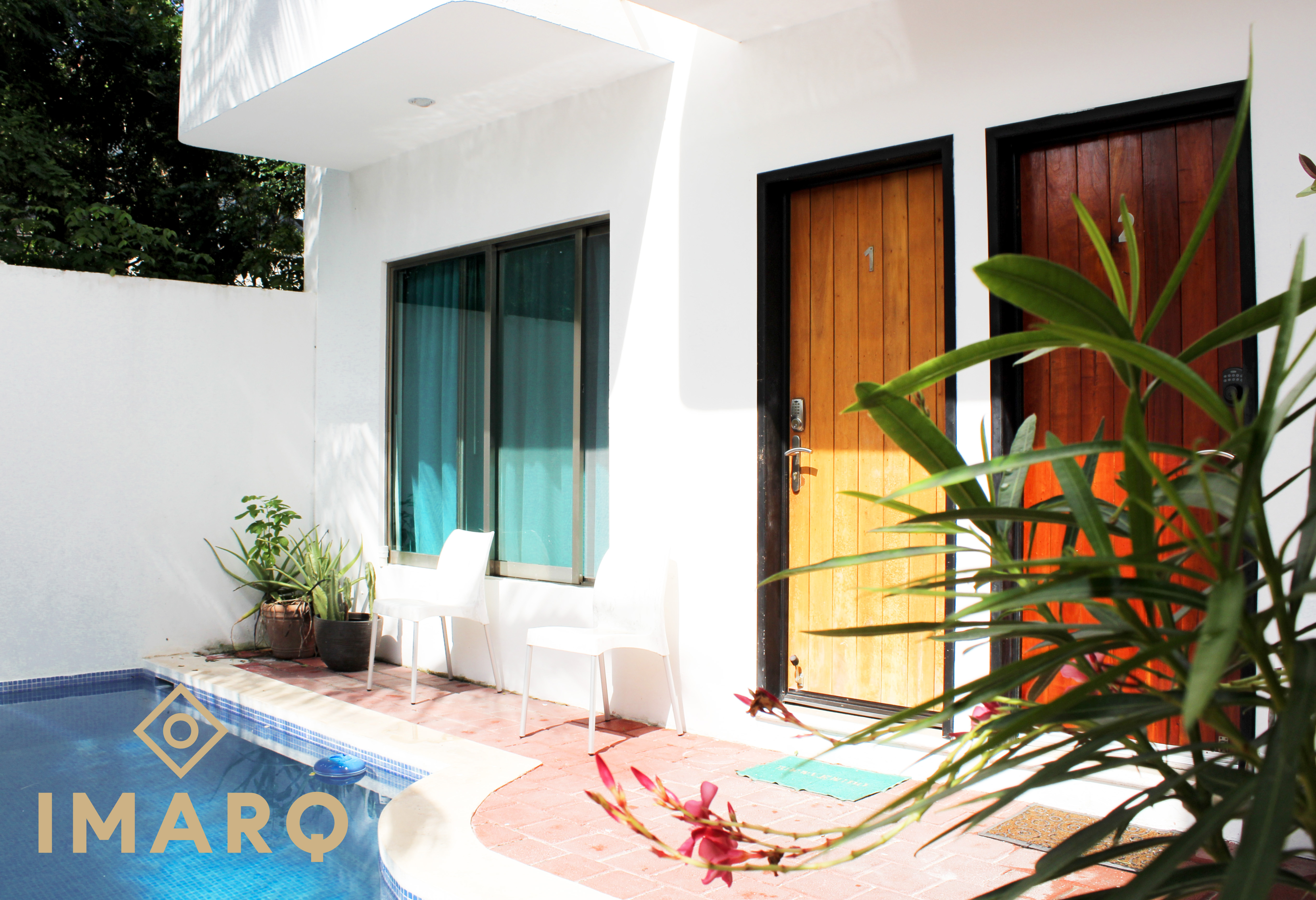 Fully furnished Condo Studio, Your own space in Isla Mujeres!