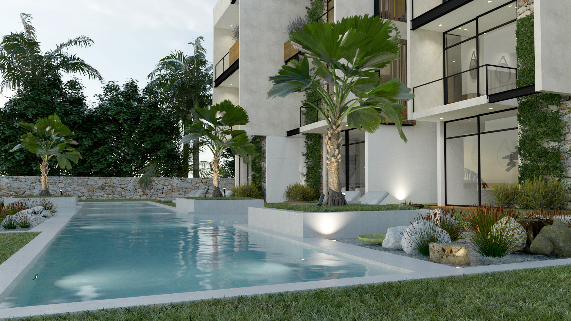 Pre-Sale Townhouse 1  in Isla Mujeres (Caribbean side)