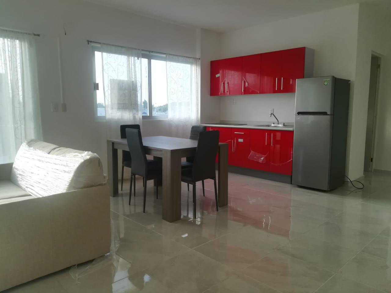 Rento departamento de 2 habitaciones en la colonia Ejidal, Playa del Carmen