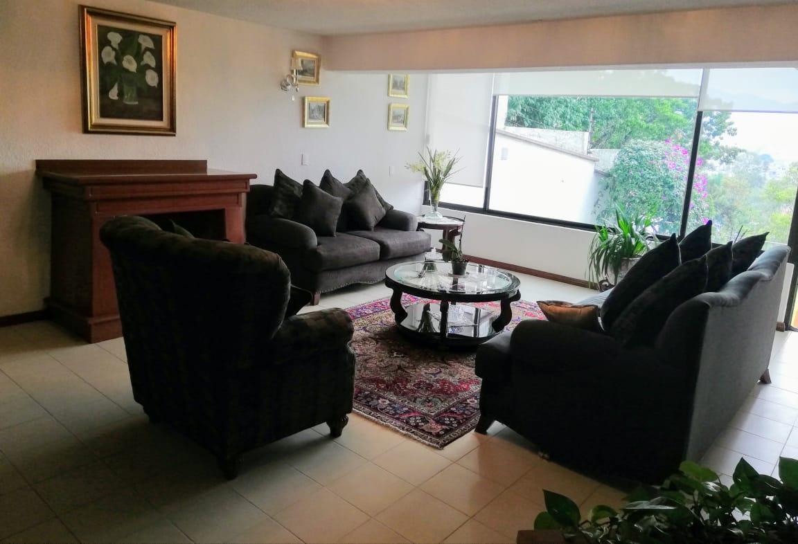Rento Casa con amplio Jardín en Bosques de la Herradura, Huixquilucan, Estado de México