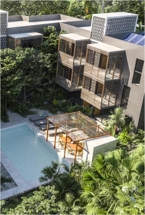 En venta departamento sin estrenar con concepto de Ecoturismo en Sukha Tulum